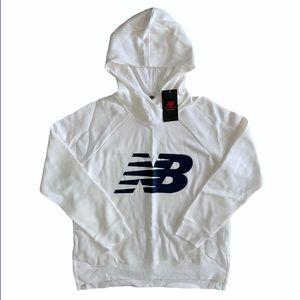 Men's New Balance Classic Logo Hooded Sweatshirt